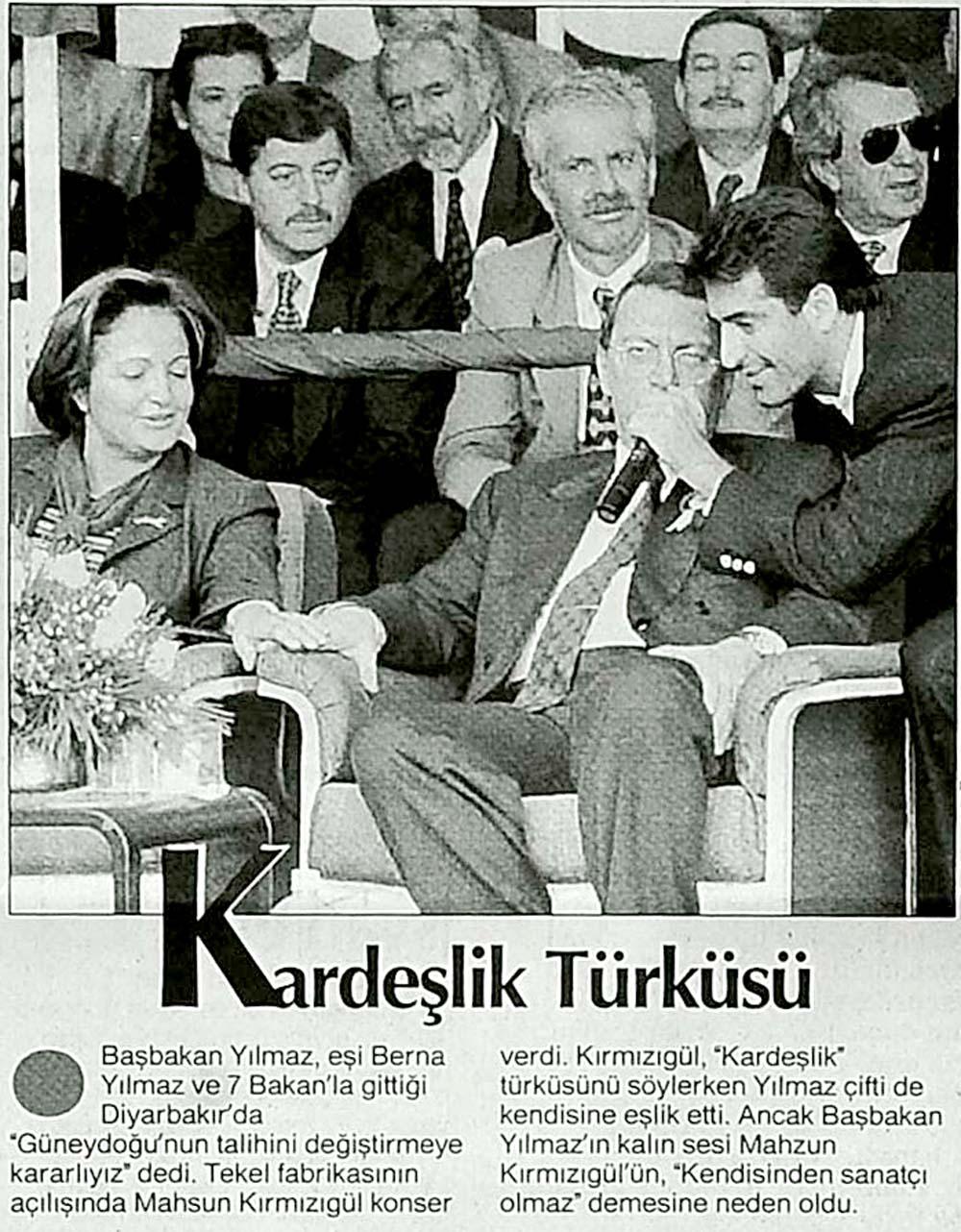 Kardeşlik Türküsü
