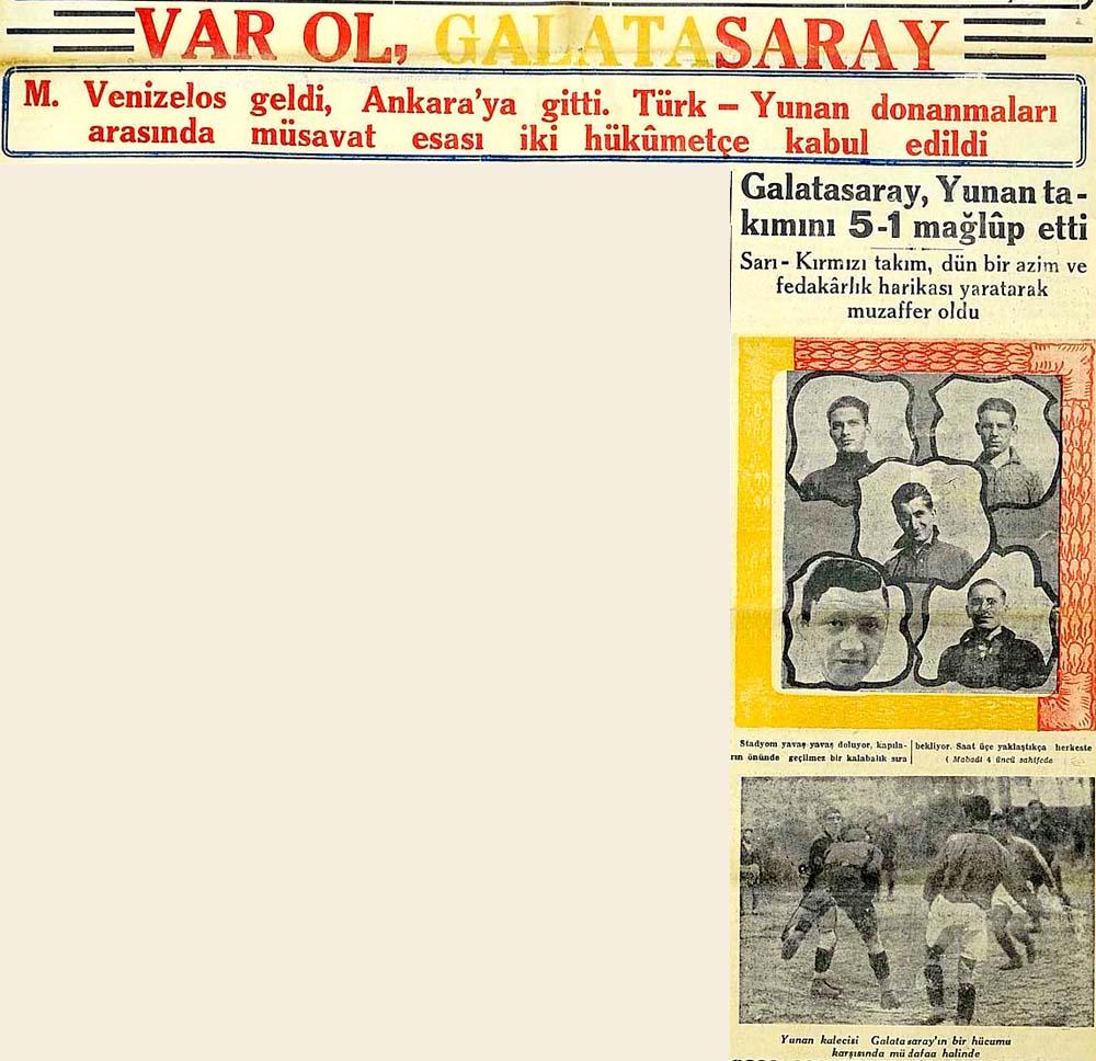 Galatasaray, Yunan takımını 5-1 mağlup etti