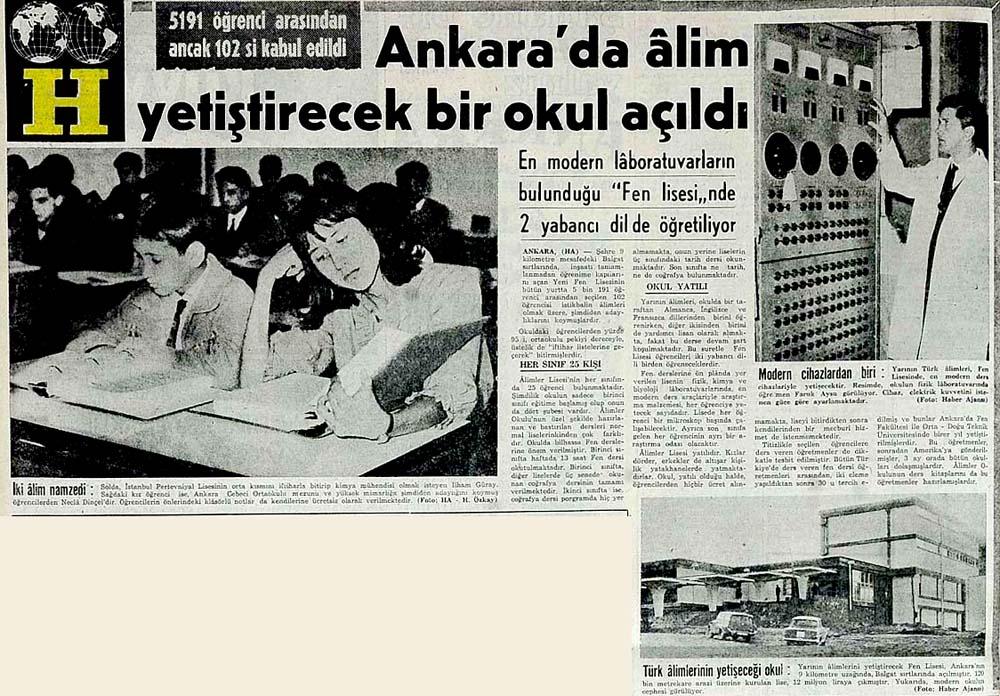 Ankara'da alim yetiştirecek bir okul açıldı