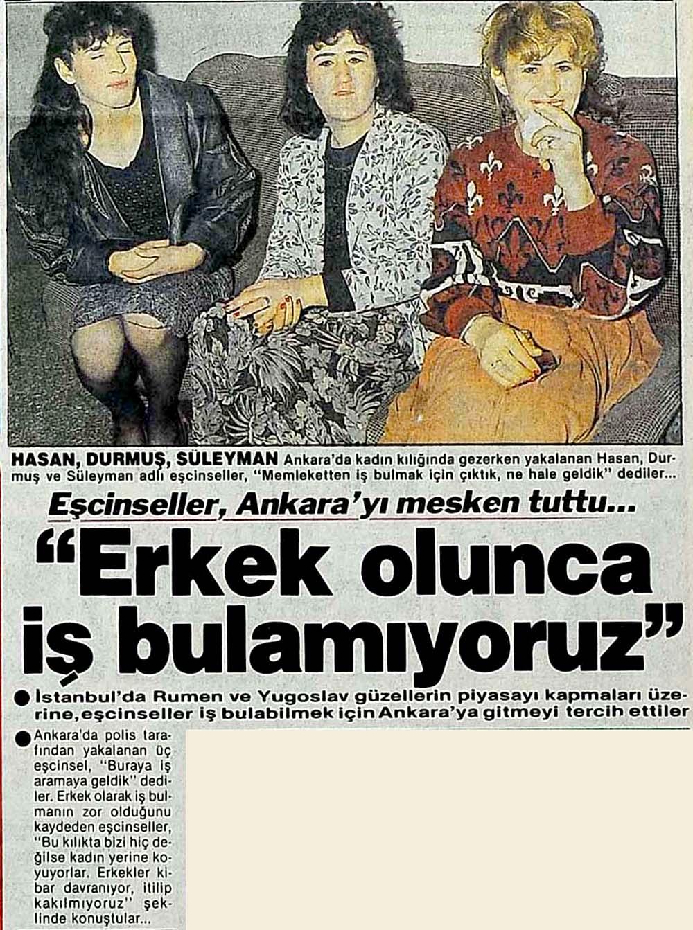 Eşcinseller Ankara'da