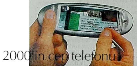 2000'in cep telefonu