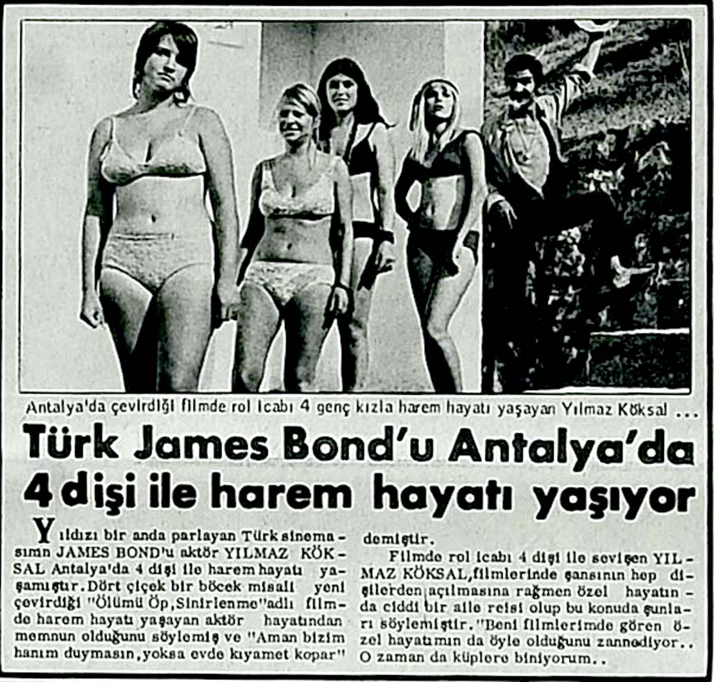 Türk James Bond'u