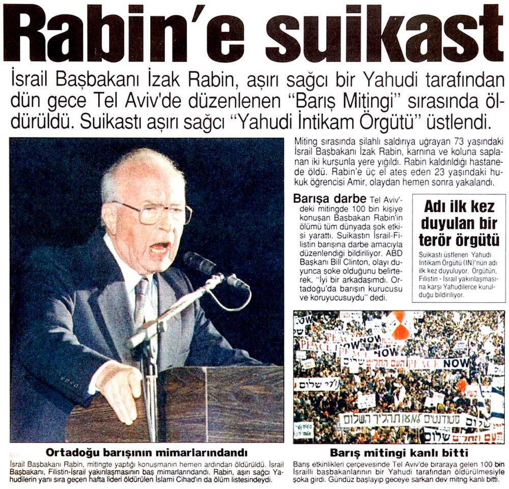 Rabin'e suikast