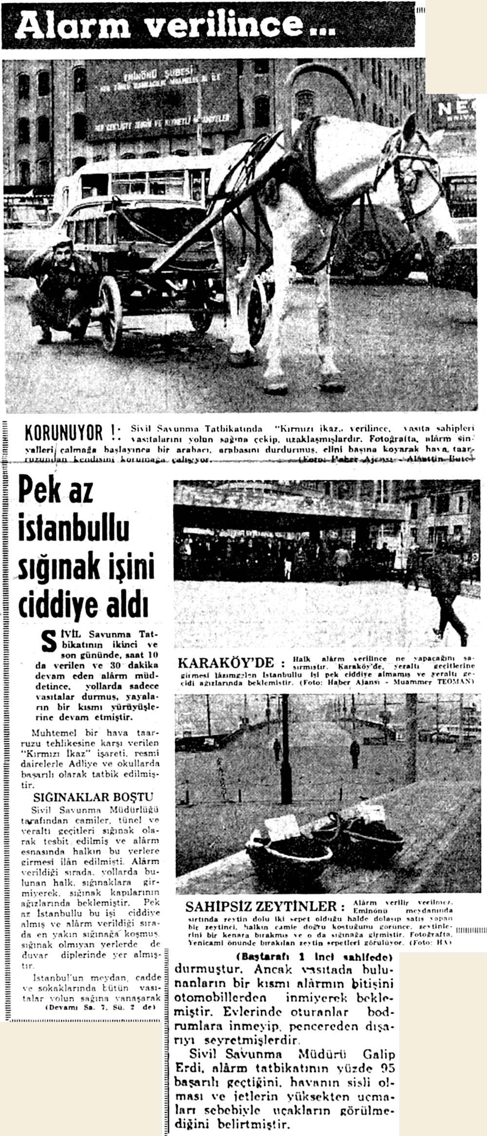 Pek az İstanbullu sığınak işini ciddiye aldı