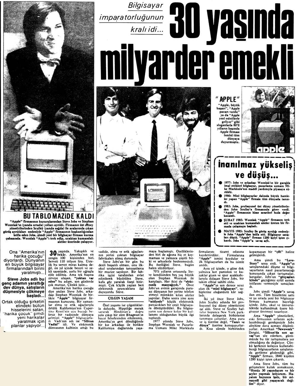 Bilgisayar imparatorluğunun kralı idi...