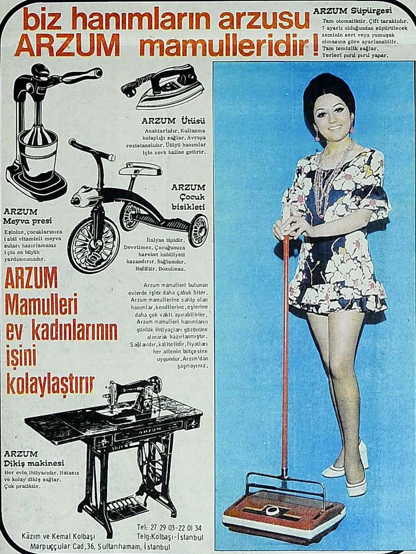 biz hanımların arzusu Arzum mamulleridir!