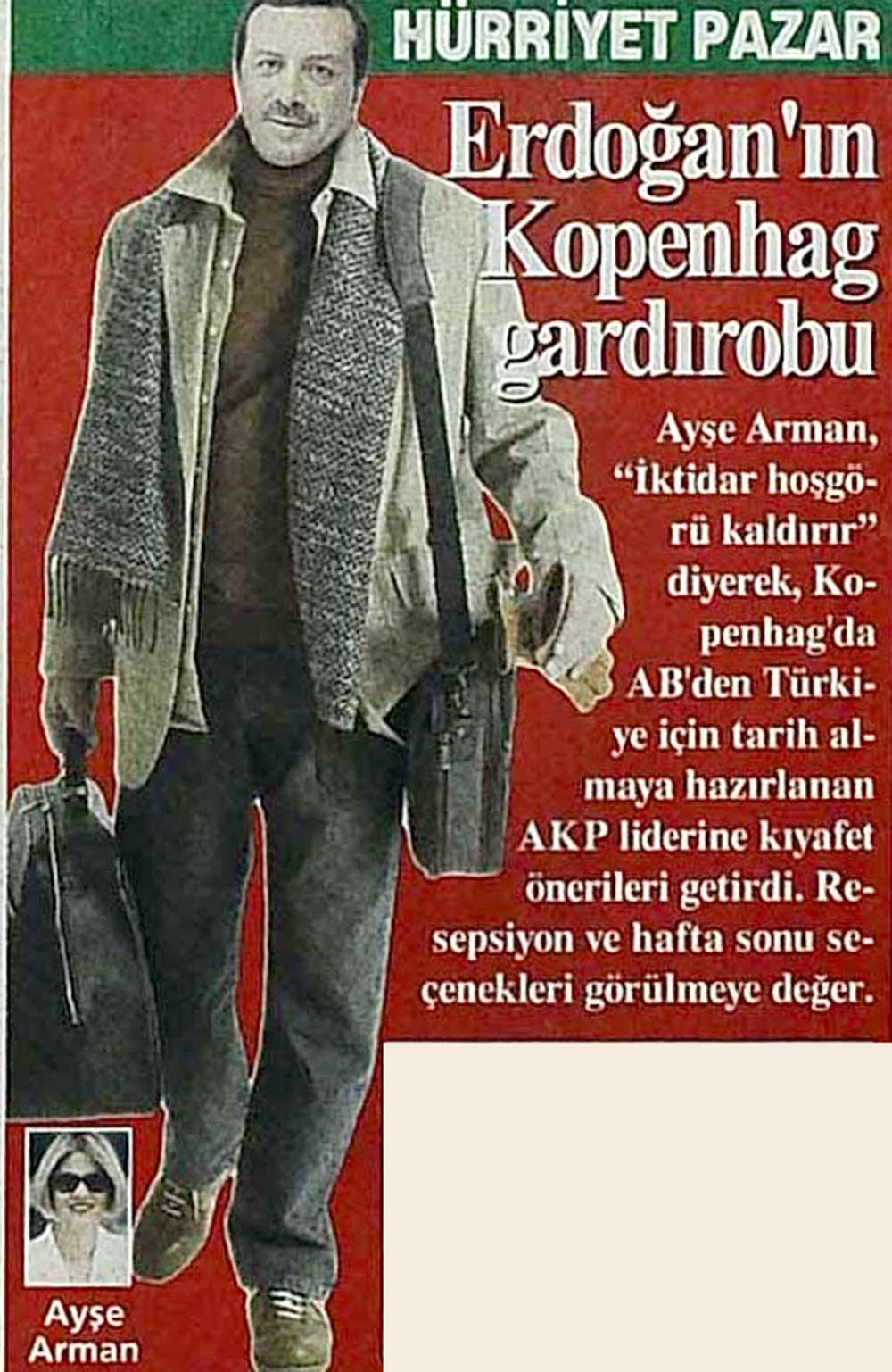 Erdoğan'ın gardırobu