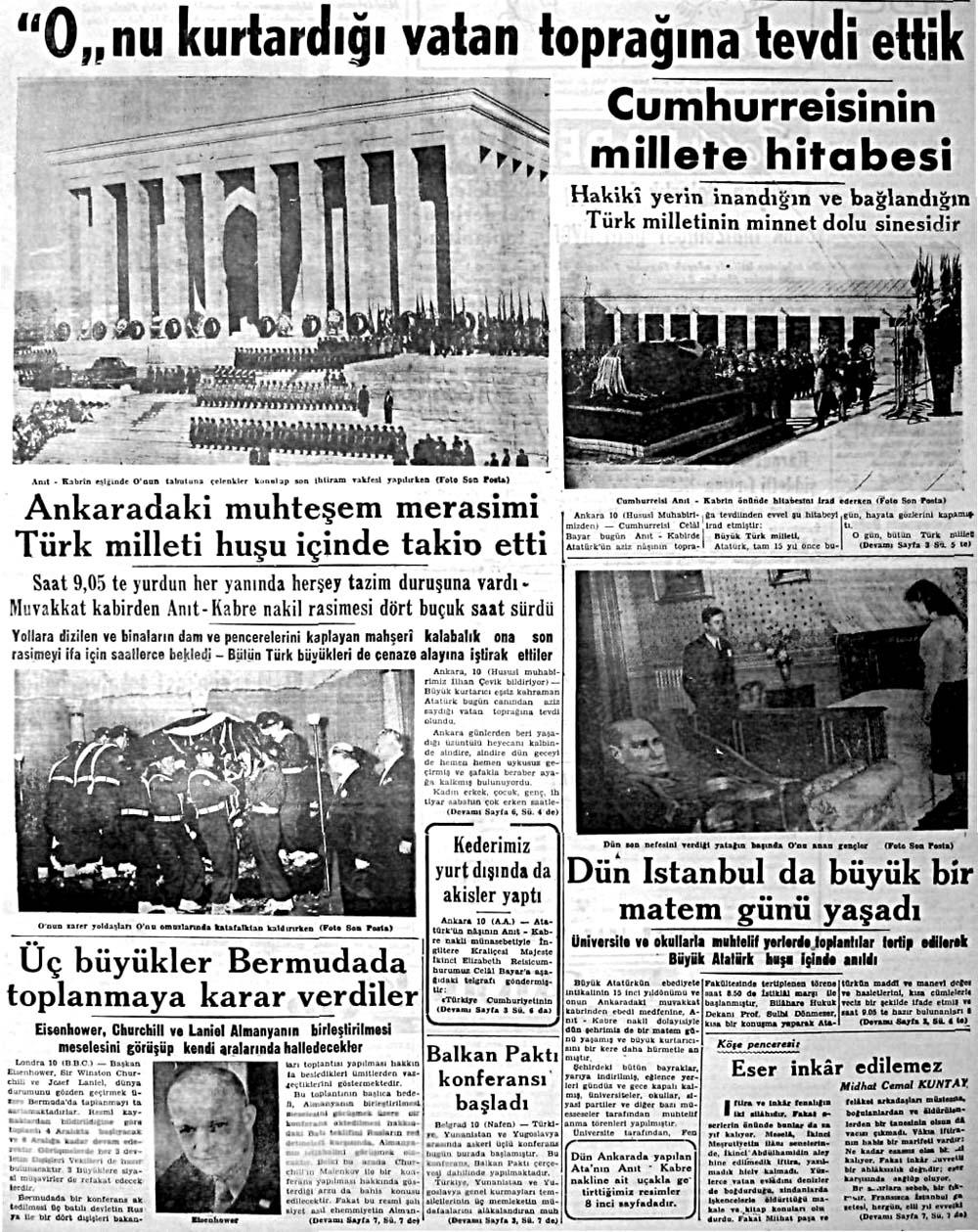 Ankaradaki muhteşem merasimi Türk milleti huşu içinde takip etti