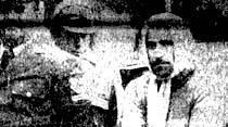 Bir firari, kadın kılığında yakalandı