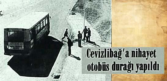 Cevizlibağ'a nihayet otobüs durağı yapıldı
