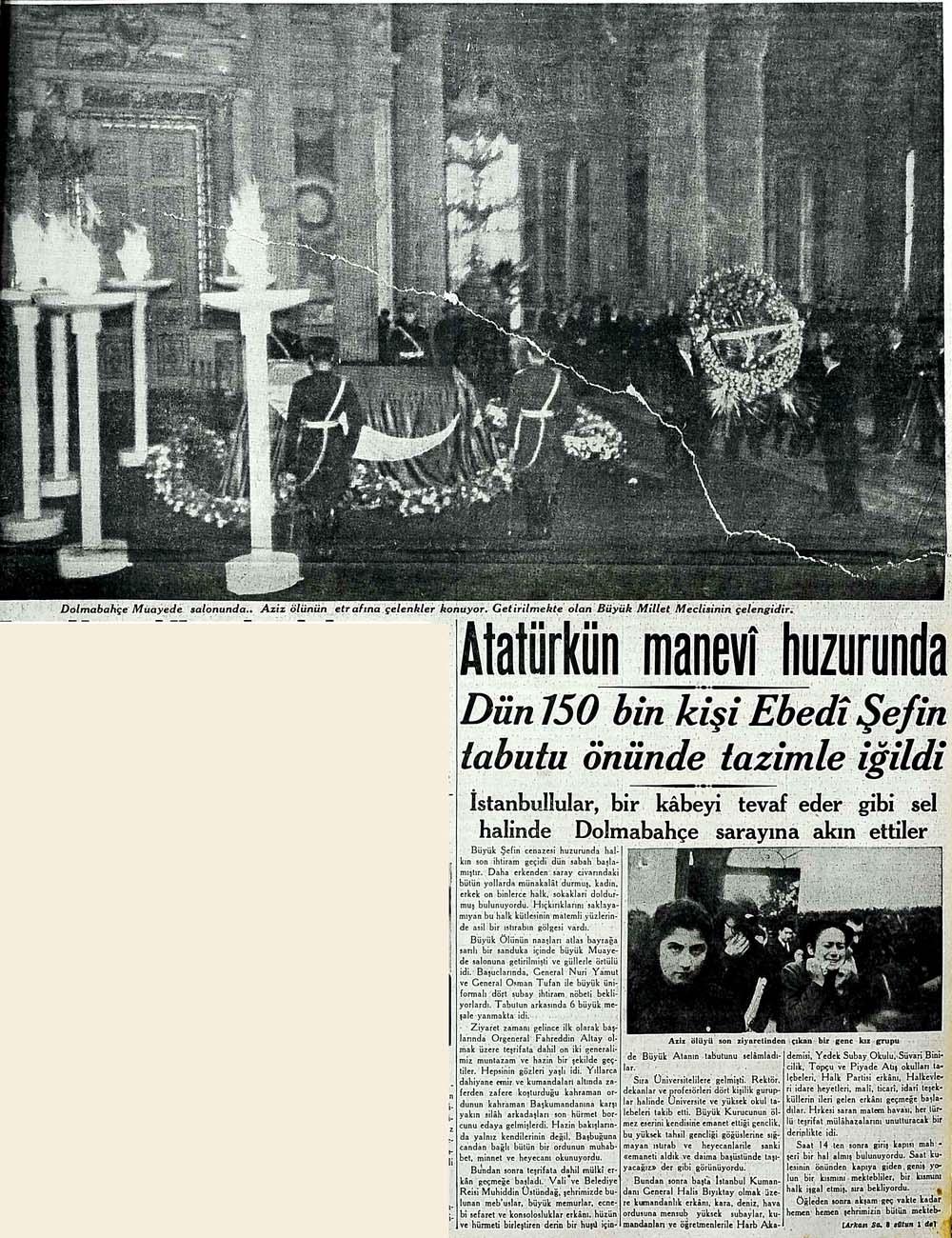 Atatürkün manevi huzurunda..