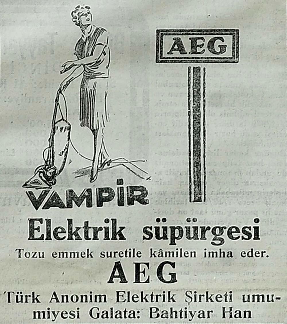 Vampir Elektrik süpürgesi