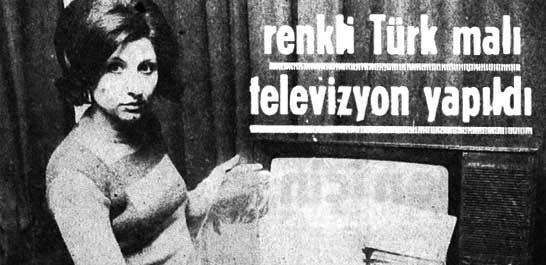 Türk malı televizyon yapıldı