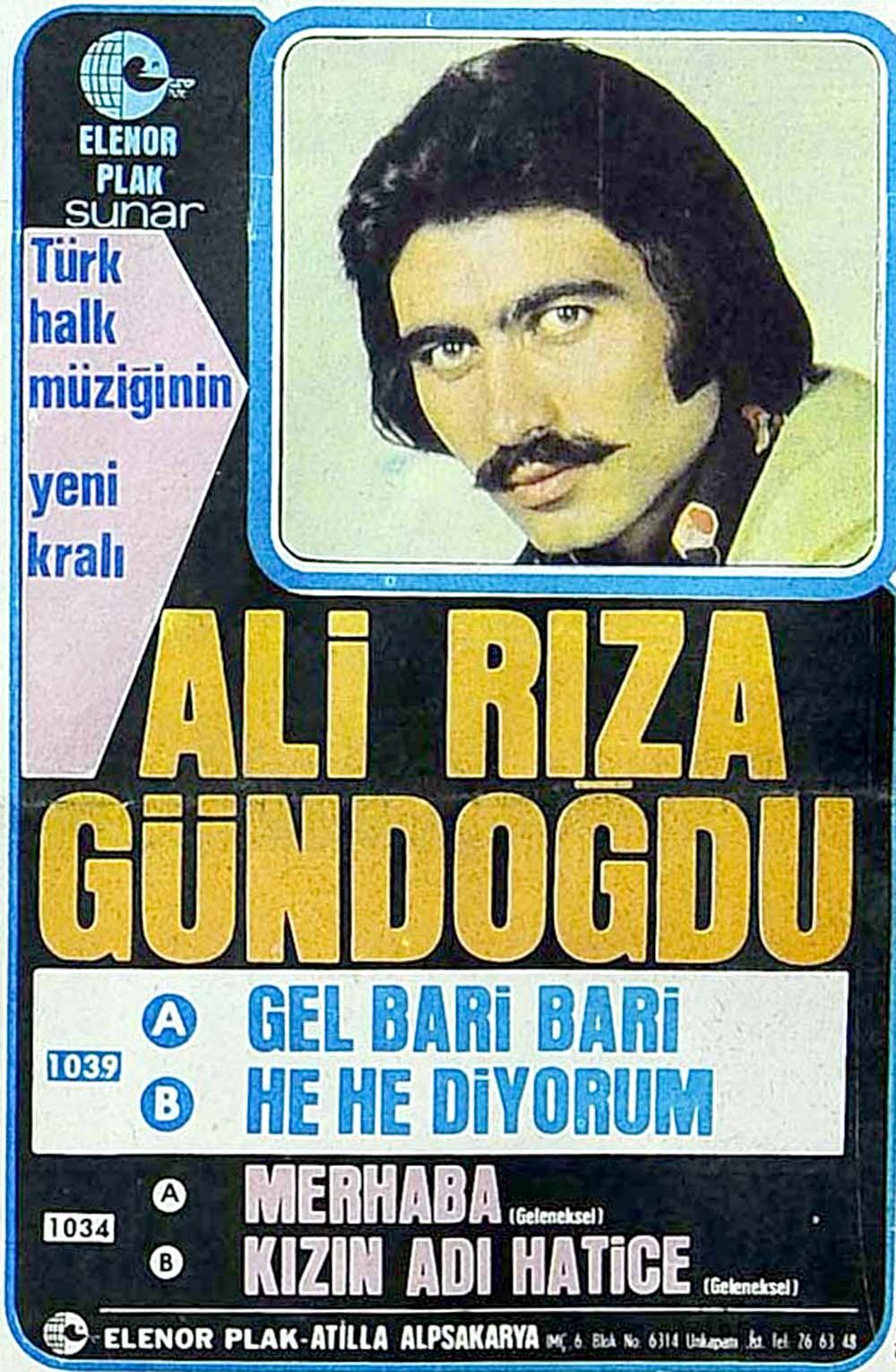 Türk halk müziğinin yeni kralı: Ali Rıza Gündoğdu