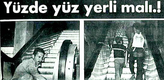 Gaziantepli iki kardeş yürüyen merdiven imal ediyorlar
