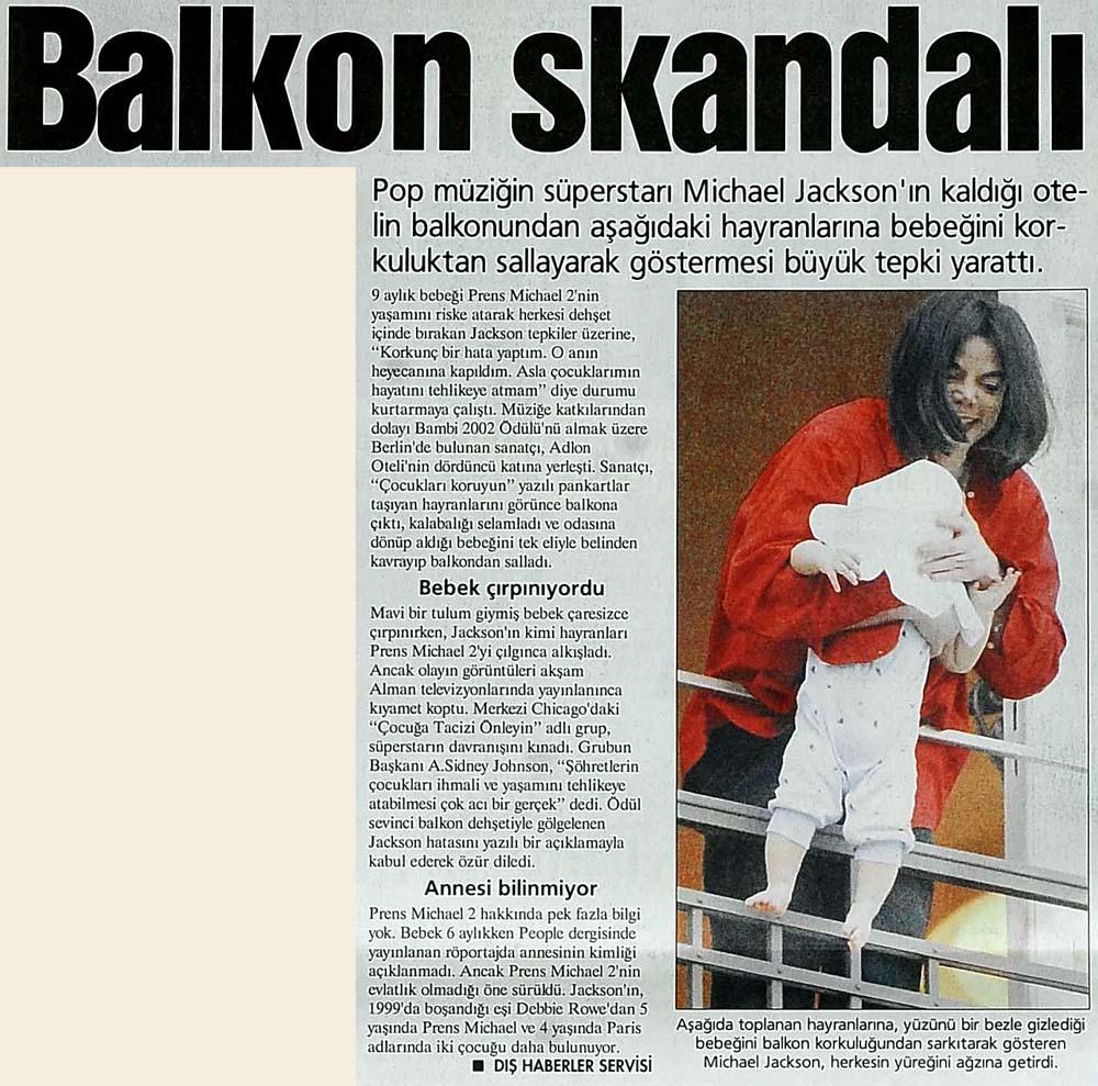 Balkon skandalı