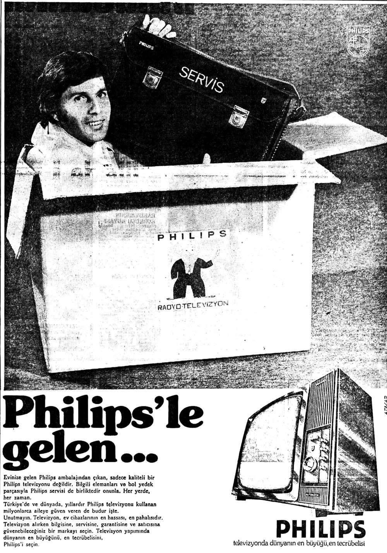 Philips'le gelen...