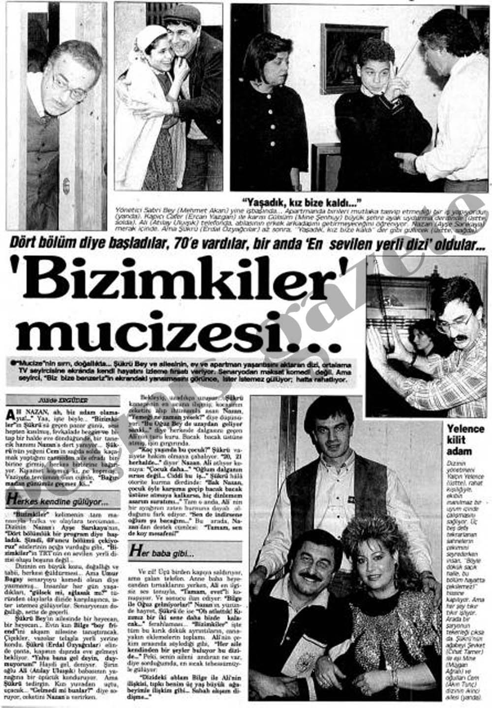 'Bizimkiler' mucizesi