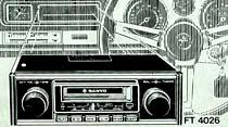 Sanyo Stereo Cassette/Radio ile yolculuğunuza neşe katınız