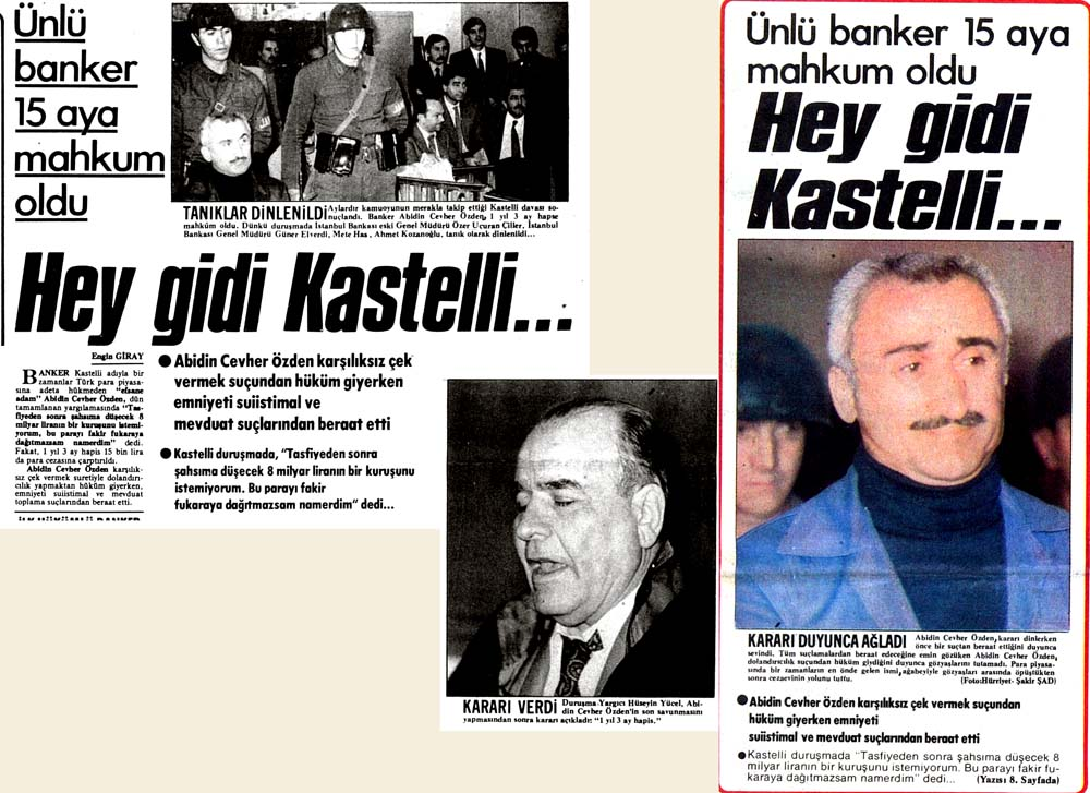 Hey gidi Kastelli...