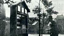 Eminönü meydanında bulunan meteoroloji kulübesi, Taksim'e kaldırılmıştır