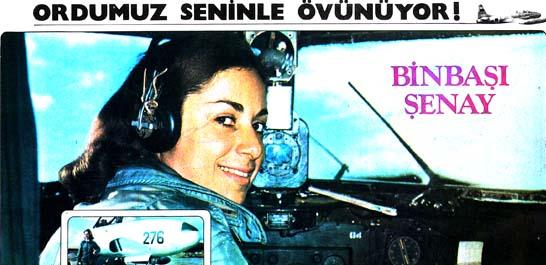 Dünyanın tek kadın jet pilotu 35 yaşında bir Türk