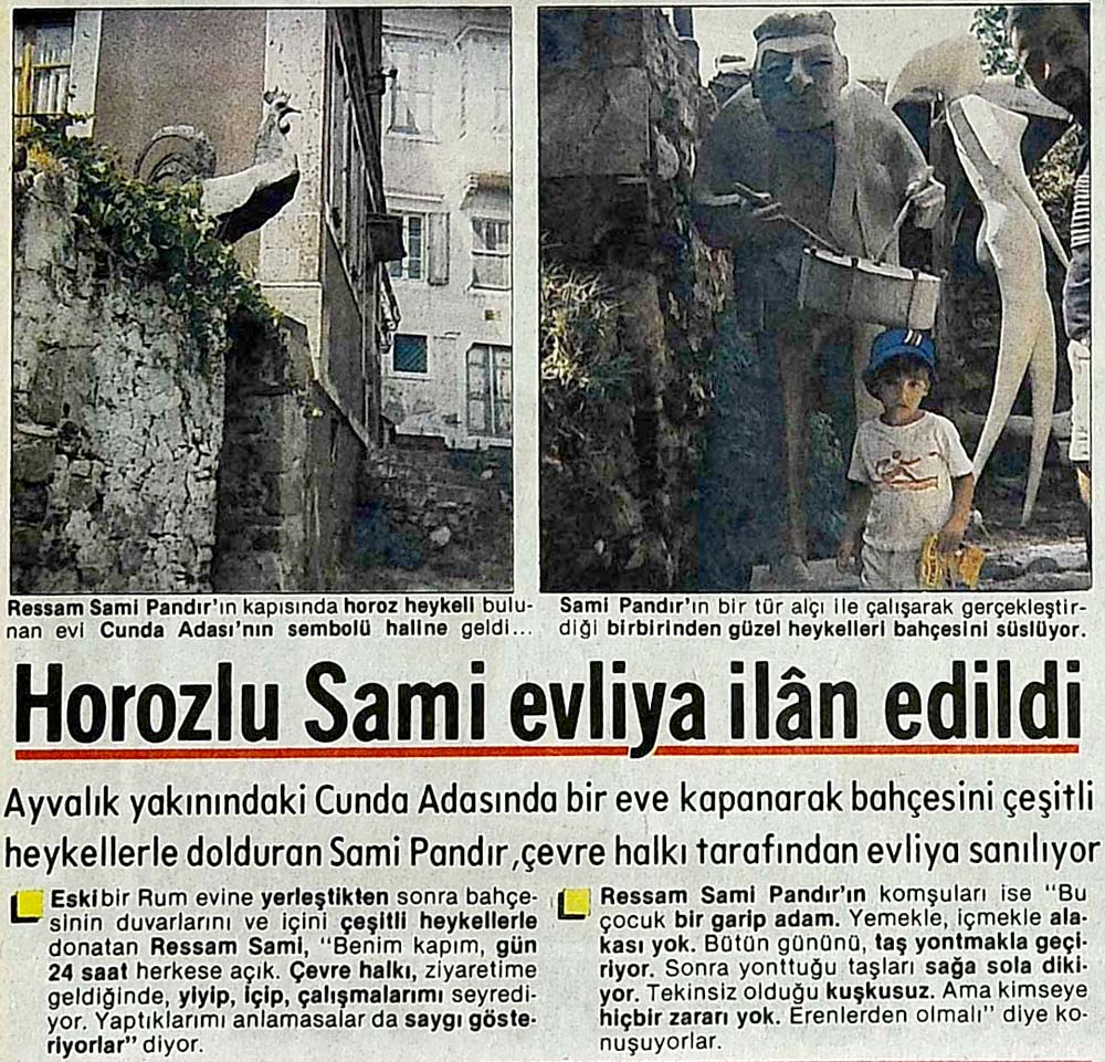 Horozlu Sami evliya ilan edildi