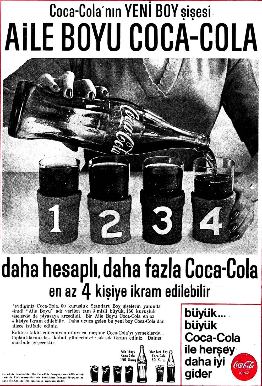 Coca-Cola'nın Yeni Boy şişesi