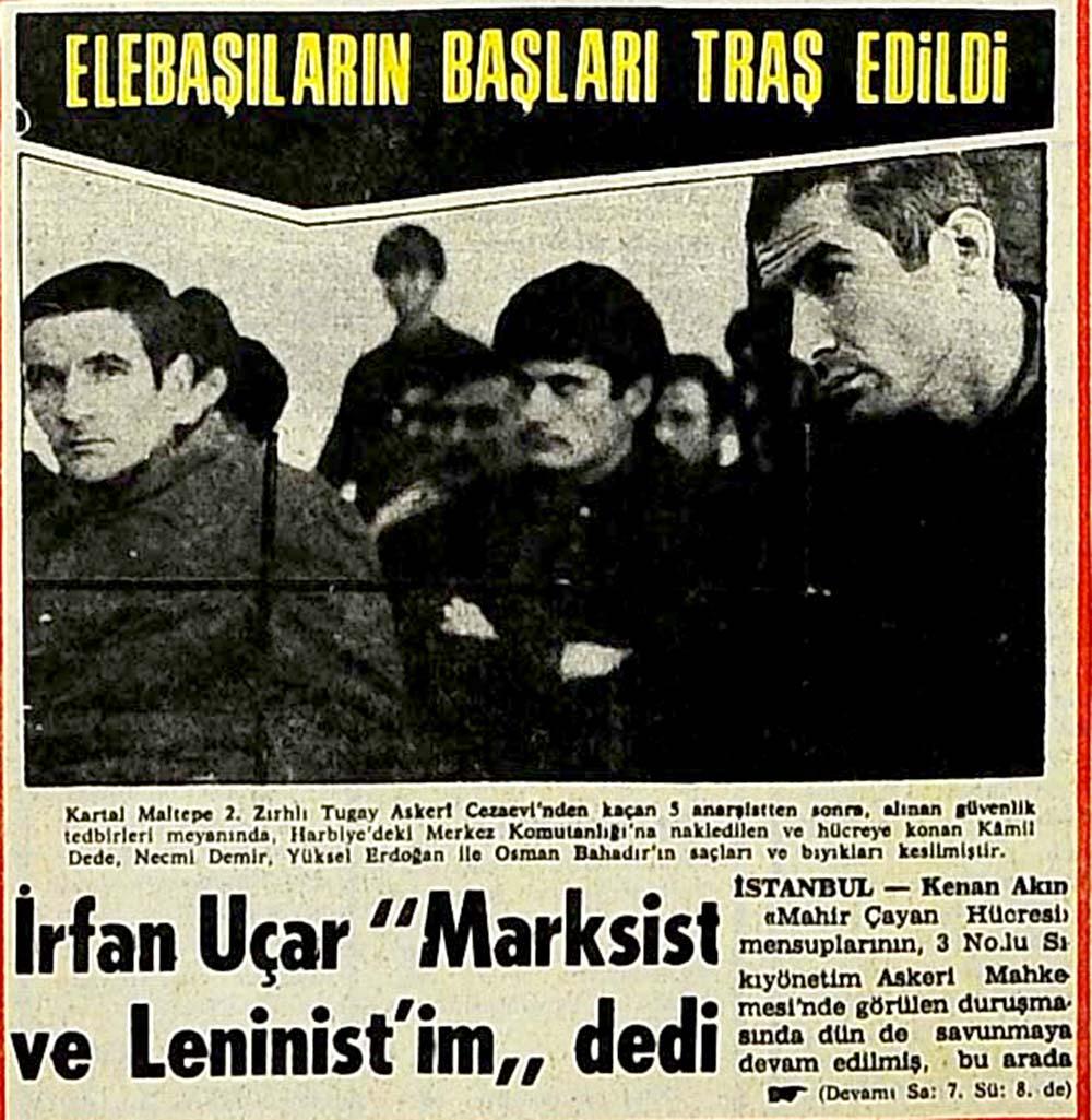 """İrfan Uçar """"Marksist ve Leninist'im"""" dedi"""