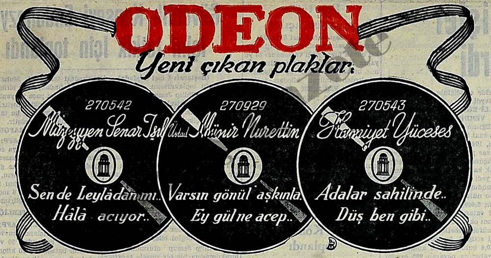 Odeon: Yeni çıkan plaklar