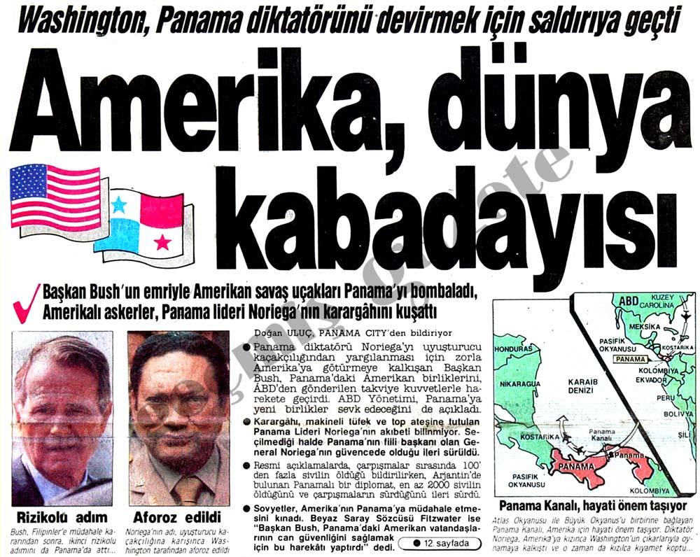 Amerika, dünya kabadayısı