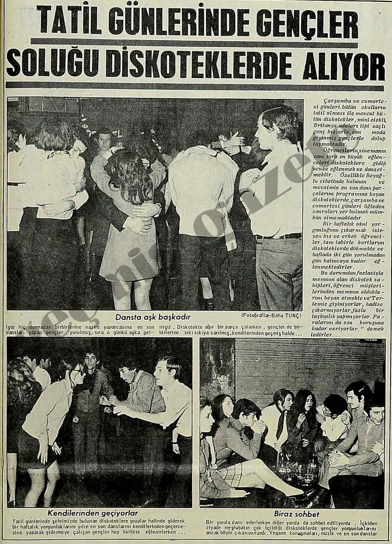 Tatil günlerinde gençler soluğu diskoteklerde alıyor