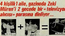 """4 kişilik 1 aile, gazinoda Zeki Müren'i 2 gecede bir """"televizyon alıcısı"""" parasına dinliyor..."""