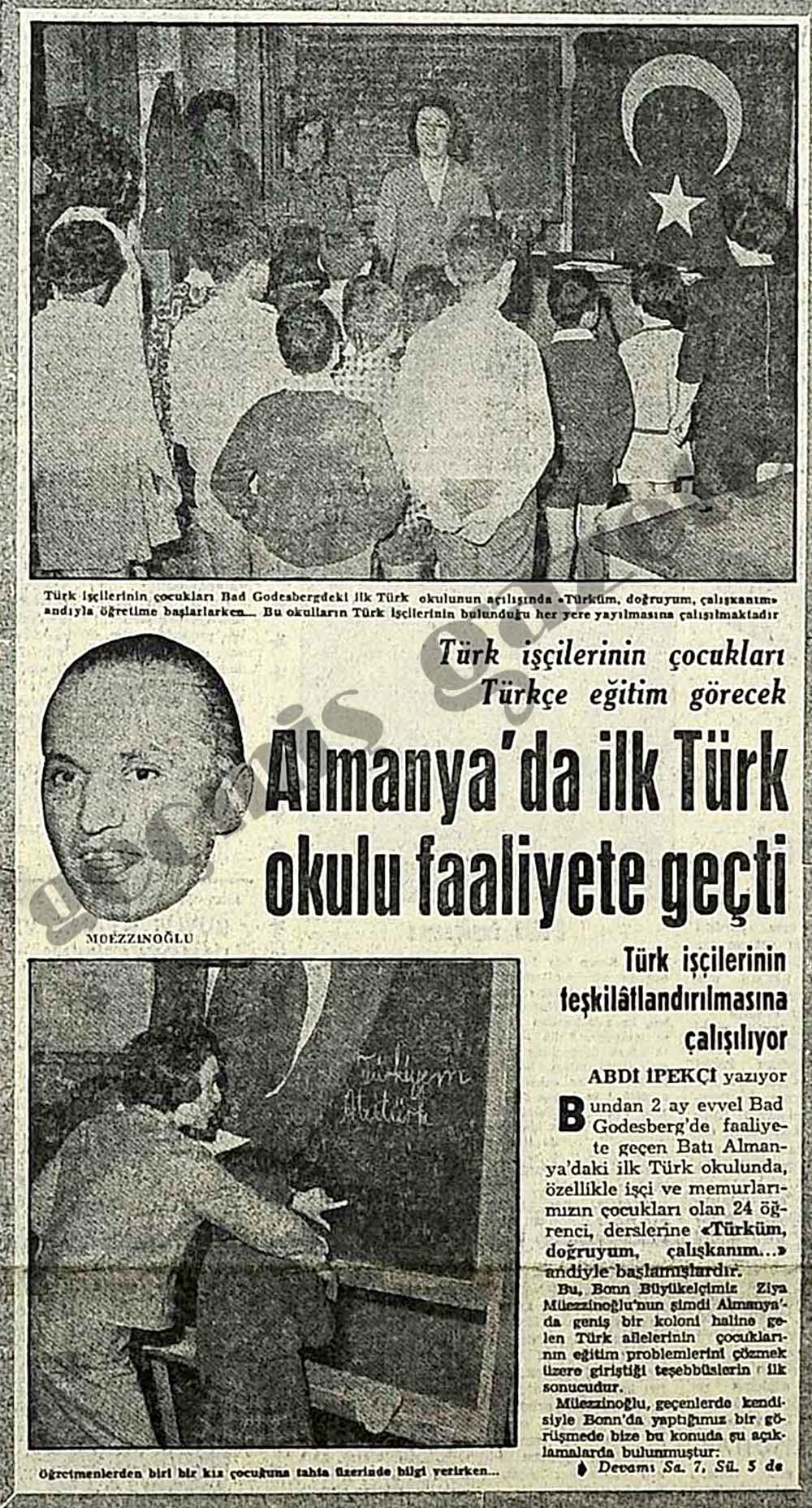 Almanya'da ilk Türk okulu faaliyete geçti