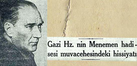 Dolmabahçe'de Dünkü Tarihi İçtima