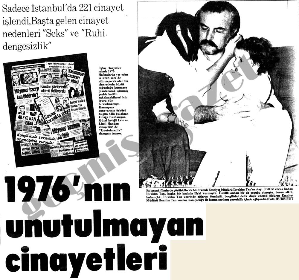 1976'nın unutulmayan cinayetleri