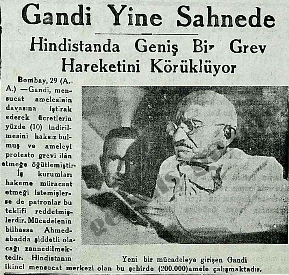 Gandi Yine Sahnede