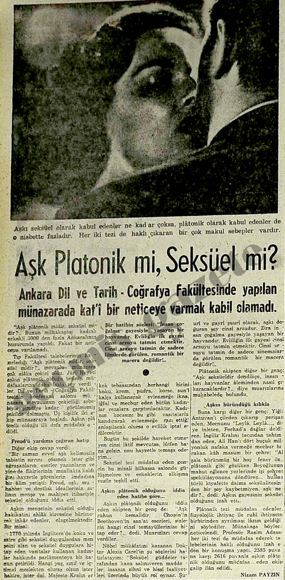 Aşk Platonik mi, Seksüel mi?