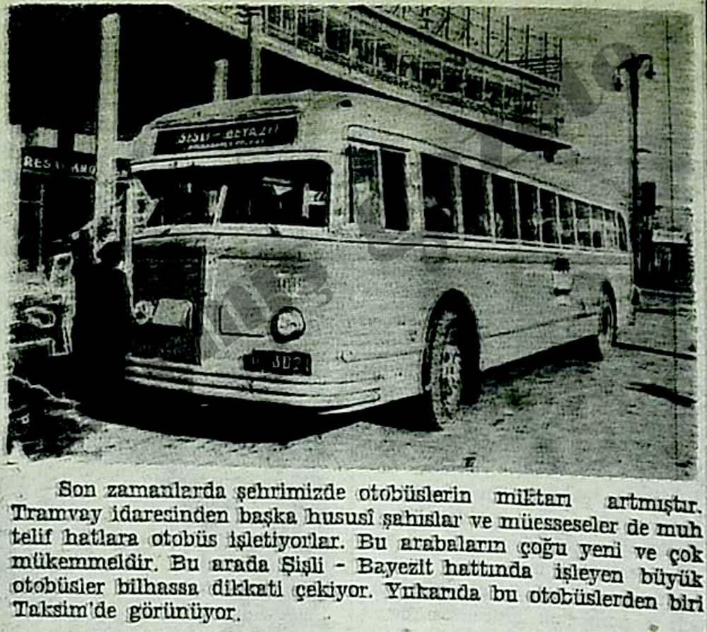 Son zamanlarda şehrimizde otobüslerin miktarı artmıştır