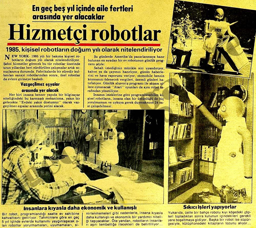 Hizmetçi robotlar