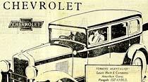 Altı silindirli Chevrolet rahat, geniş, kuvvetli ve aynı zamanda idarelidir