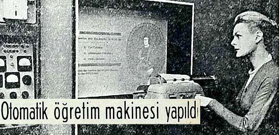 Öğretmen sıkıntısını giderecek bir makine vazifeye girdi