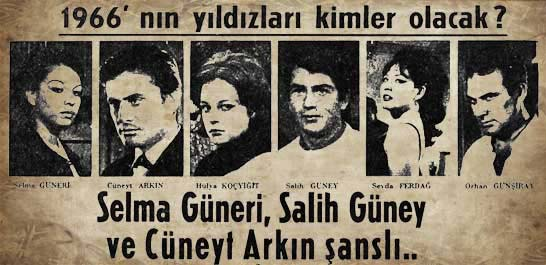 1966'nın yıldızları kimler olacak?