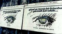 Dalan, İstanbul'da duvarlara afiş yapıştırmayı yasakladı
