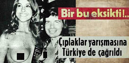 Çıplaklar yarışmasına Türkiye de çağrıldı