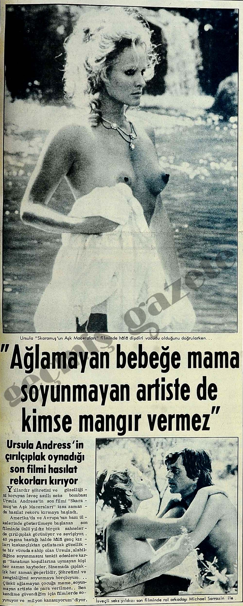 """""""Ağlamayan bebeğe mama soyunmayan artiste de kimse mangır vermez"""""""