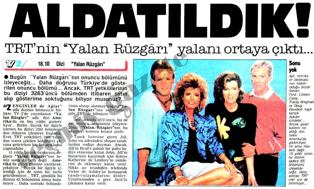 """TRT'nin """"Yalan Rüzgarı"""" yalanı ortaya çıktı..."""