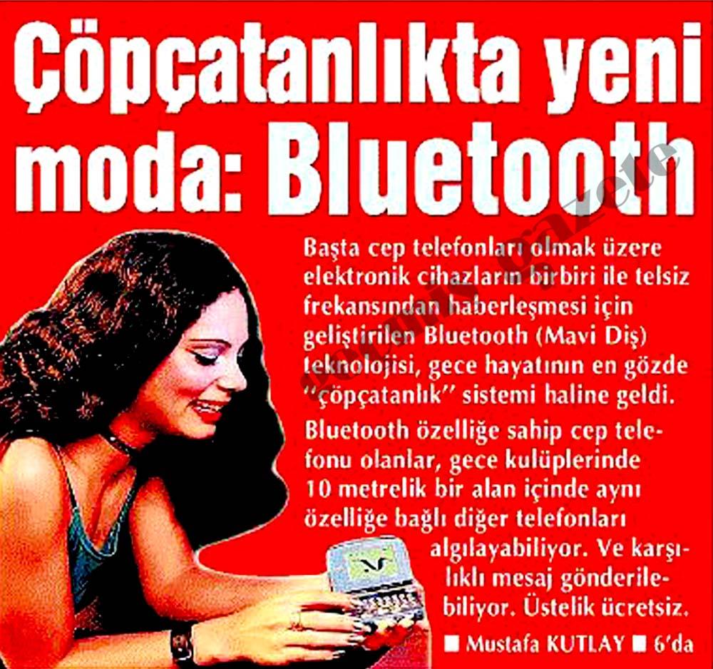 Çöpçatanlıkta yeni moda: Bluetooth