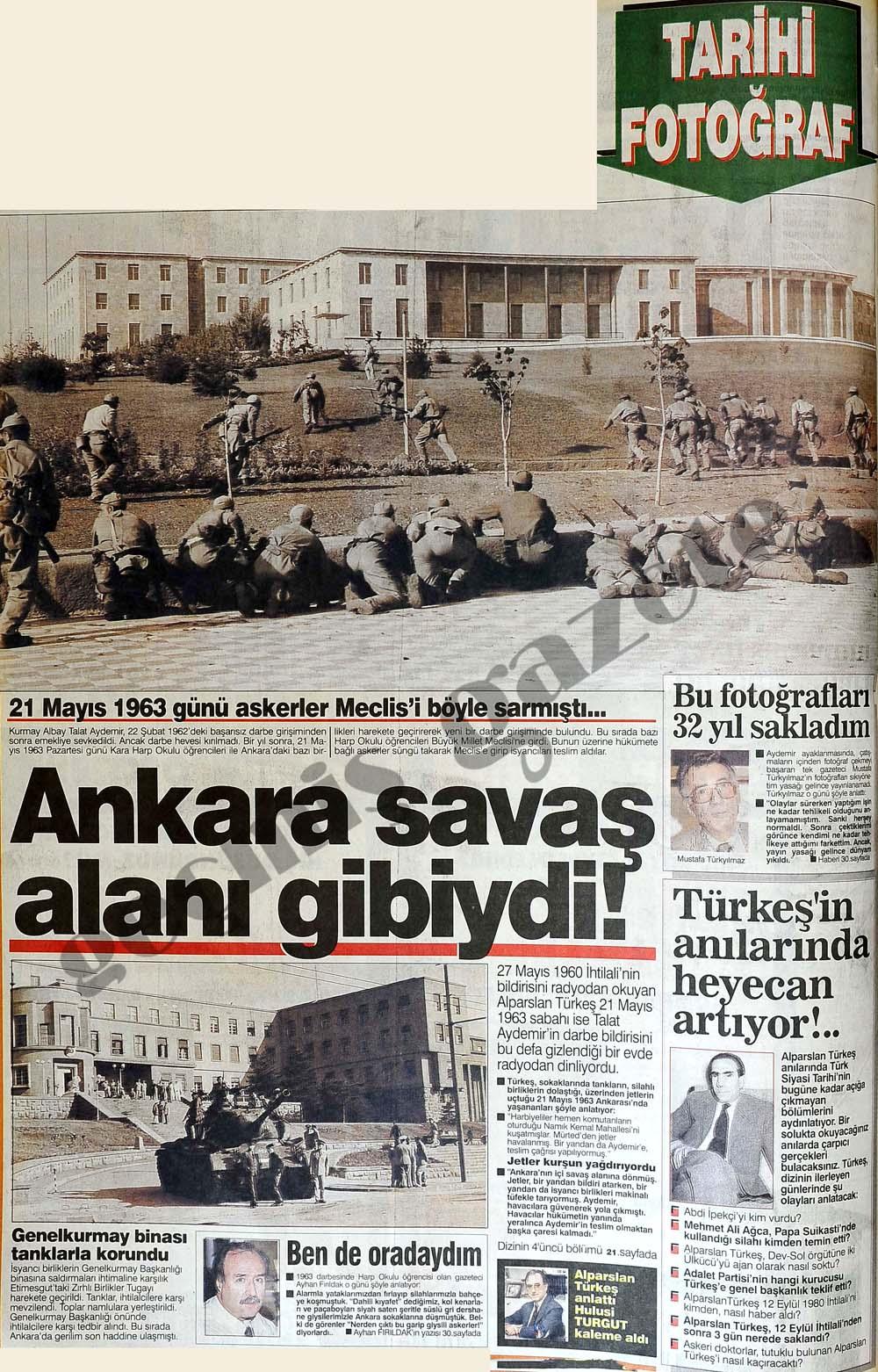 Ankara savaş alanı gibiydi!