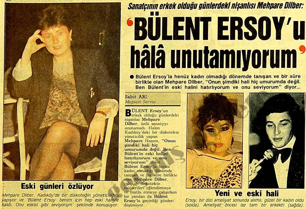 """Bülent Ersoy'u hala unutamıyorum"""